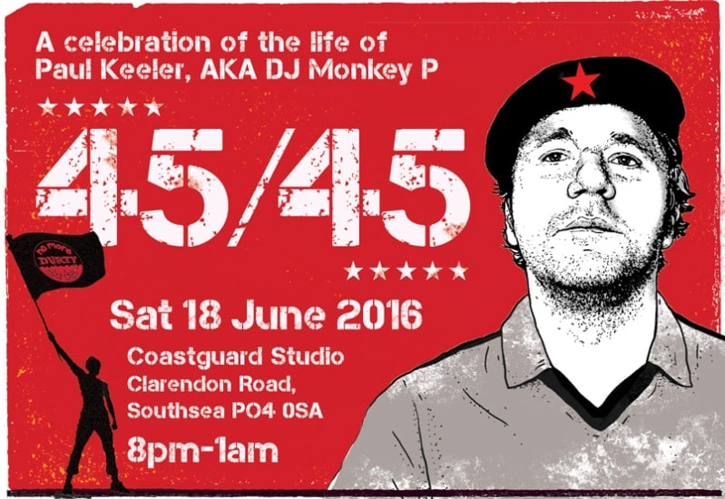 Paul Keeler tribute Saturday 18 July 2016