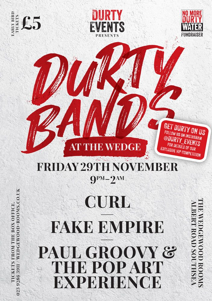 Durt Bands flyer